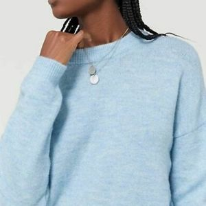Urban outfitters blue wool sweater size large
